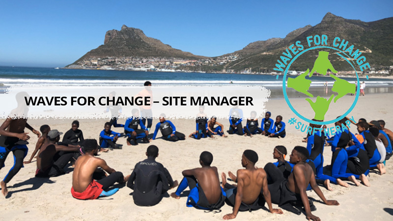 Waves for Change – Site Manager