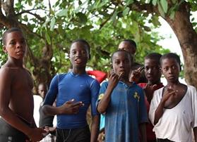 W4C kids liberia